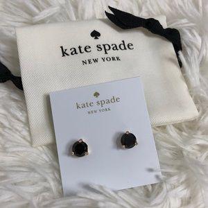 Kate Spade Black Stone Studs